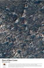 The Floor of Beer Crater