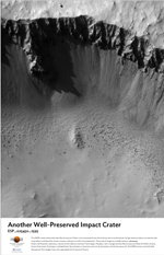 Another Well-Preserved Impact Crater