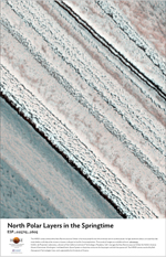 North Polar Layers in the Springtime
