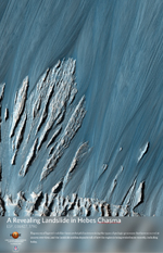 A Revealing Landslide in Hebes Chasma