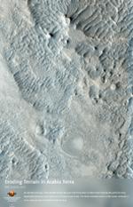 Eroding Terrain in Arabia Terra