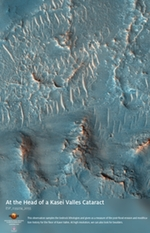 At the Head of a Kasei Valles Cataract