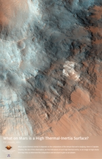 What on Mars is a High Thermal-Inertia Surface?