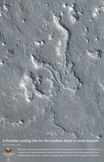 A Possible Landing Site for the ExoMars Rover in Aram Dorsum