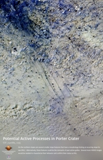 Potential Active Processes in Porter Crater