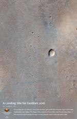 A Landing Site for ExoMars 2016