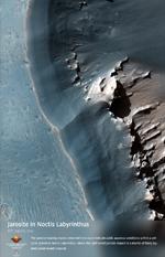 Jarosite in Noctis Labyrinthus