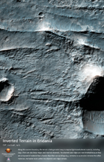 Inverted Terrain in Eridania