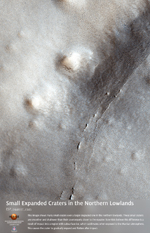 Small Expanded Craters in the Northern Lowlands