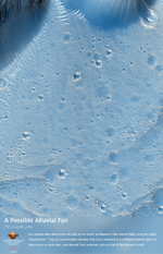 A Possible Alluvial Fan