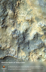 Bedrock North of Terby Crater