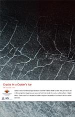 Cracks in a Crater