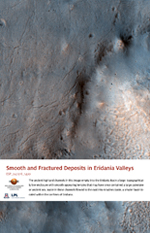 Smooth and Fractured Deposits in Eridania Valleys