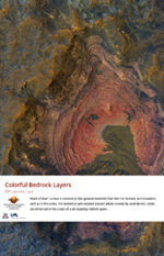Colorful Bedrock Layers