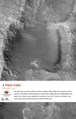 A Triple Crater