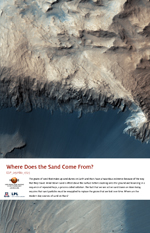 Where Does the Sand Come From?