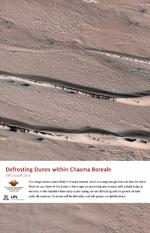 Defrosting Dunes within Chasma Boreale