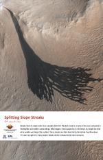Splitting Slope Streaks
