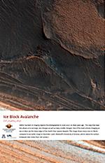 Ice Block Avalanche