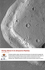 Rising Above It in Amazonis Planitia