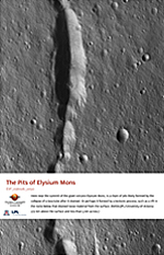 The Pits of Elysium Mons