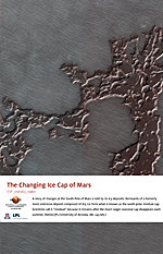 The Changing Ice Cap of Mars