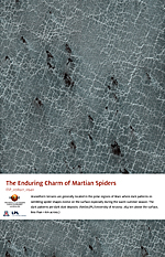 The Enduring Charm of Martian Spiders