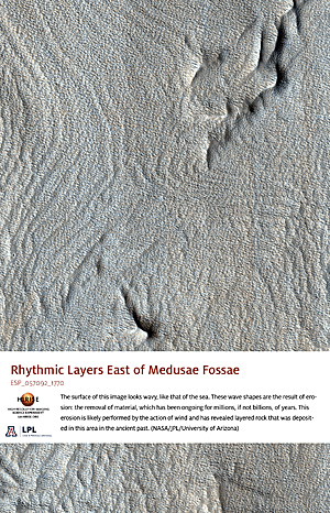 Rhythmic Layers East of Medusae Fossae