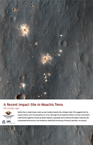 A Recent Impact Site in Noachis Terra