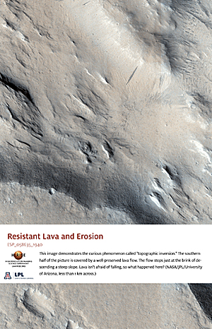 Resistant Lava and Erosion