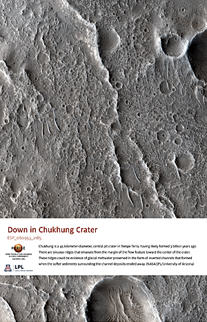 Down in Chukhung Crater