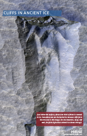 Cliffs in Ancient Ice
