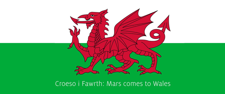 Croeso i Fawrth: Mars comes to Wales