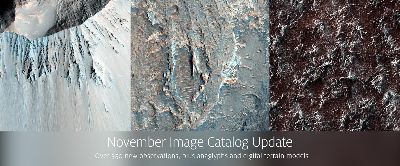 November PDS Release