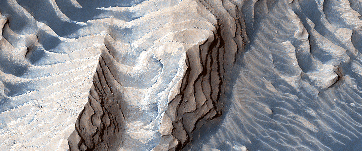 Layers in Danielson Crater