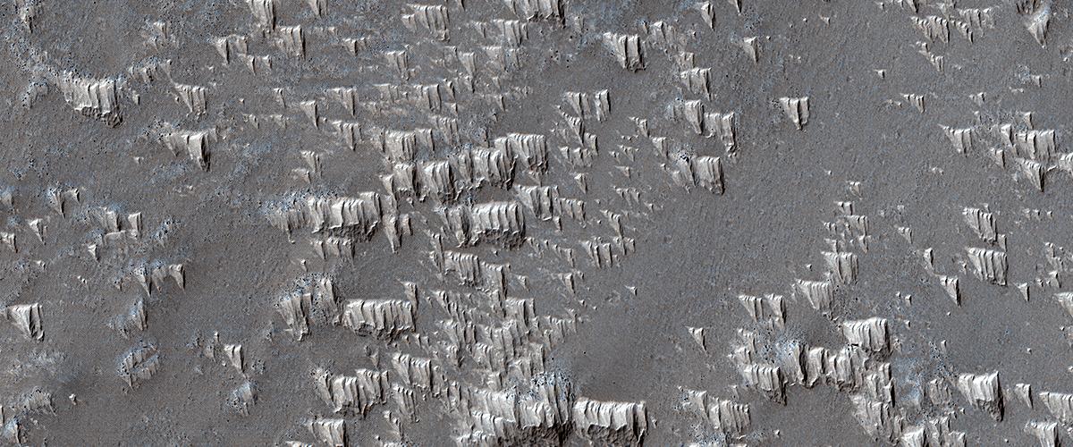 Pristine Dust Deposits in Syria Planum
