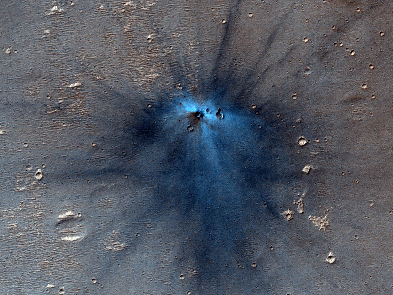 A Fresh Martian Impact Bad Astronomy Testimonial From Arthur Aten Nevada State Trooper