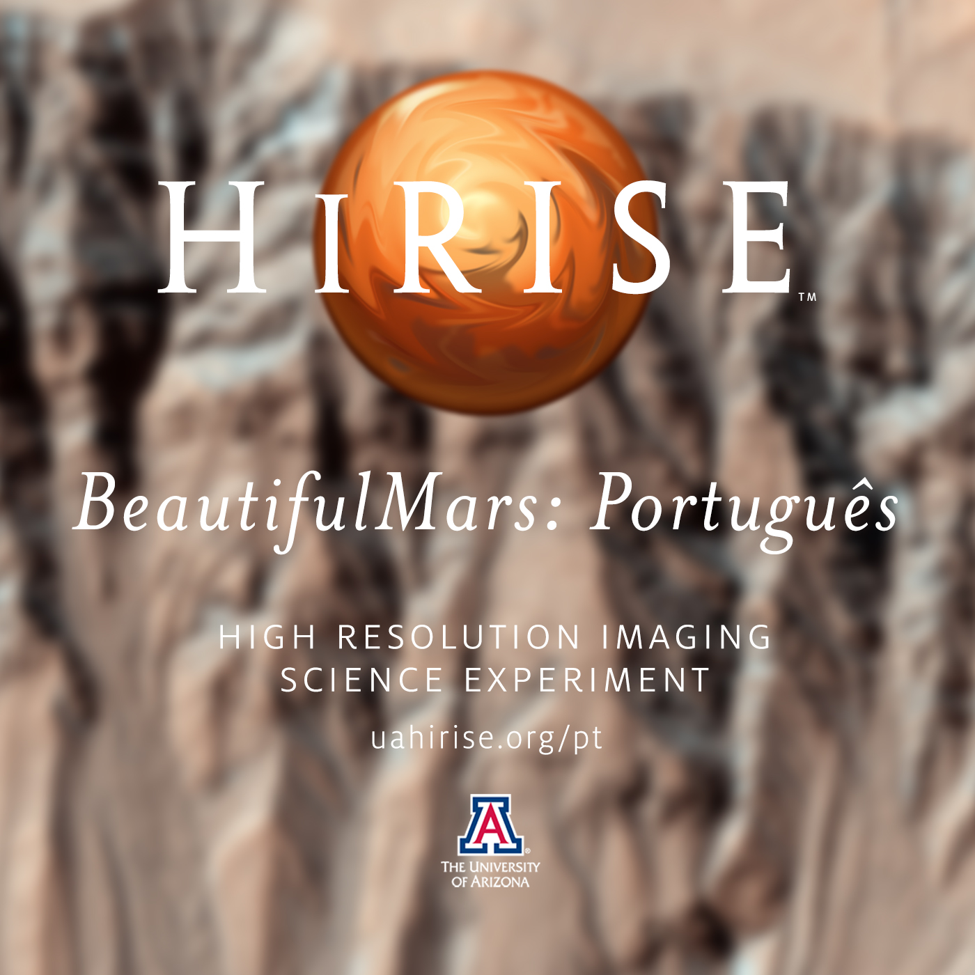 HiRISE: The BeautifulMars Podcast em português (Video)