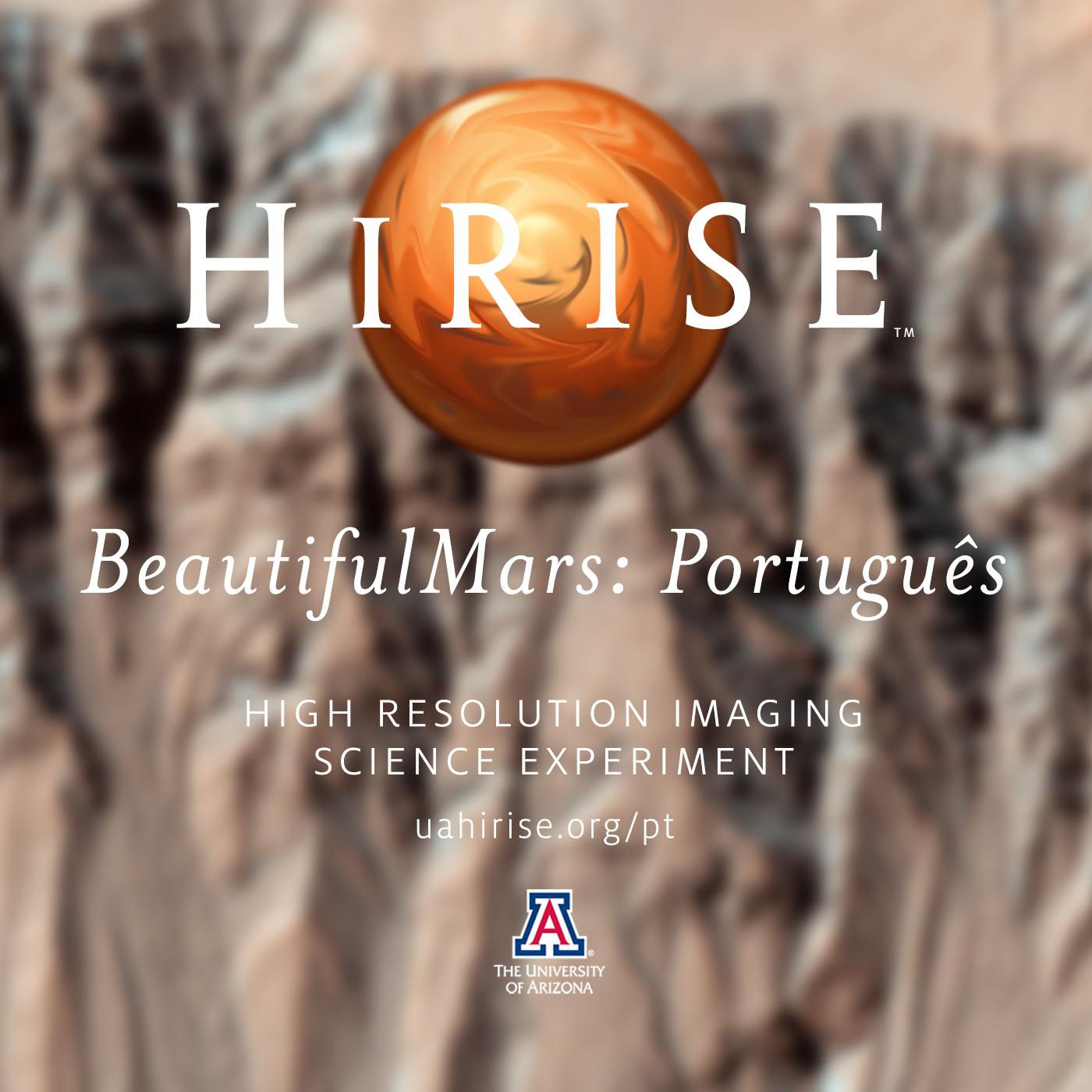 HiRISE: The BeautifulMars Podcast em português (Video)